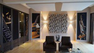 akustik panel diffuser