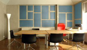 peredam suara ruang rapat/meeting