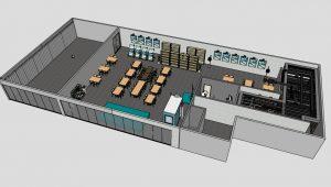 peredam suara dan akustik panel pada cafe dan ruang musik