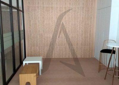 jasa panel akustik studio radio