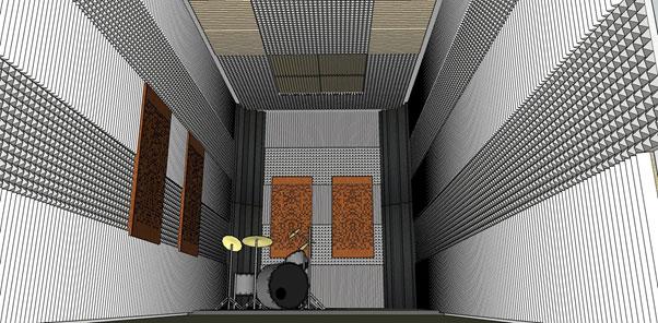 Membuat Ruang Studio Musik Dengan Anggaran Biaya (Buget) Terjangkau dan Berkualitas Baik