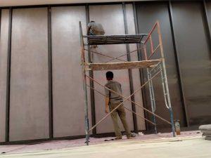Pemasangan Panel Akustik Auditorium