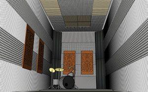 pembuatan studio musik drum jakarta