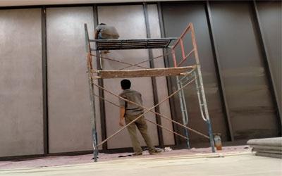 Pemasangan Panel Akustik Absorber pada Auditorium PGN Jakarta