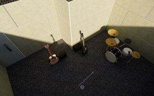 Pembuatan Studio Musik di Kantor