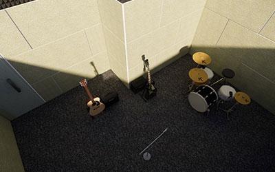 Pembuatan Ruang Musik di Kantor PT Paragon Technology and Innovation