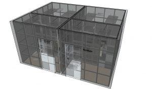 desain ruang peredam suara puslabfor