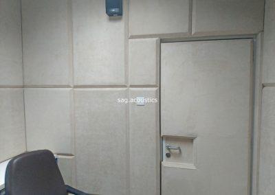 peredam suara gedung puslabfor polri