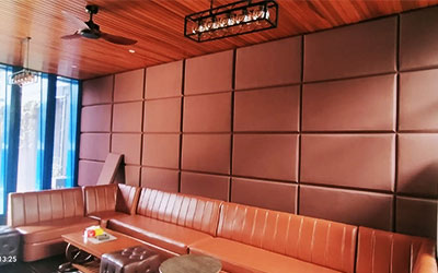 Pemasangan Peredam Suara dan Tata Akustik Ruang Karaoke & Lounge PT. Mitra Buana Trans
