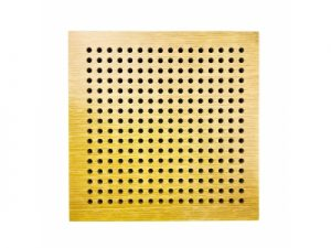 perforated acoustics panel