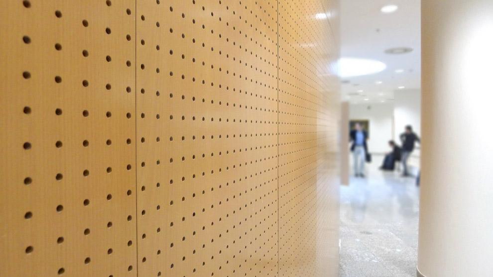 panel akustik perforated