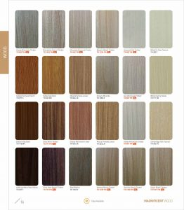Pilihan Warna Panel Akustik Perforated