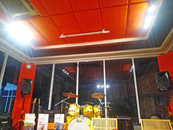 panel akustik plafon
