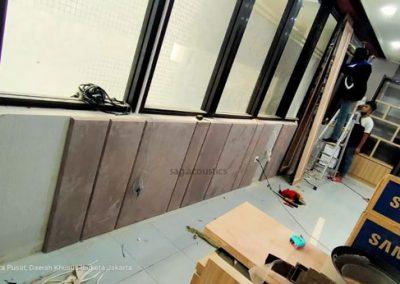 Panel akustik peredam gema ruangan karaoke