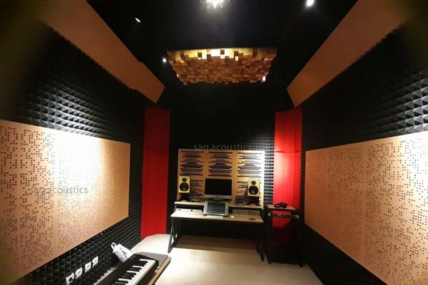 Mengoptimalkan Ruangan Studio Rekaman Dengan Panel Akustik