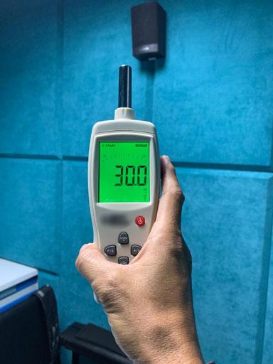 pengukuran kebisingan suara