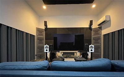 Pemasangan Panel Akustik Ruang Audio dan Home Theater