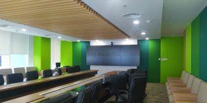 panel akustik ruang kantor