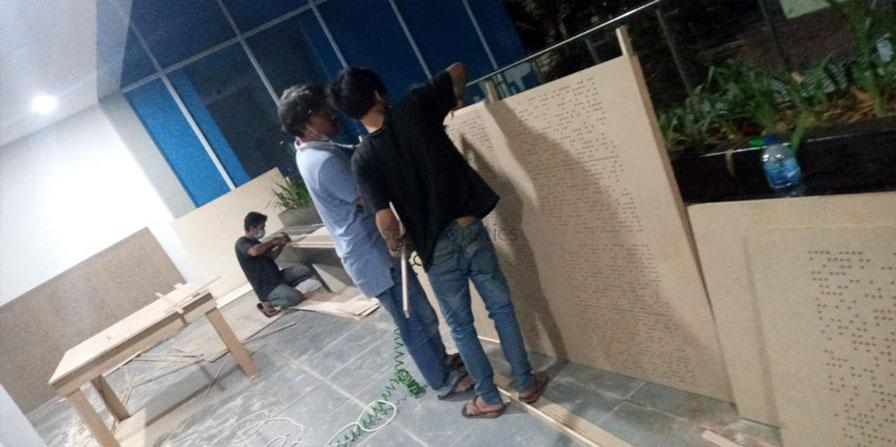 pembuatan panel akustik